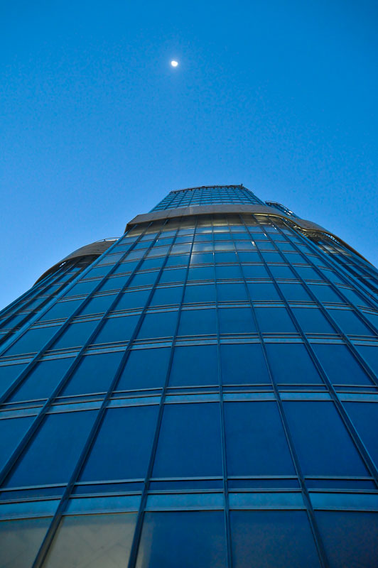 На крыше Бурдж Халифа